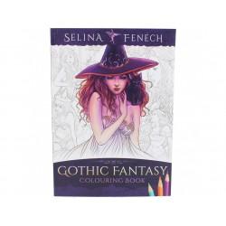 Kniha omalovánek - Gothic Fantasy