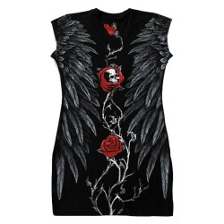 Dámské šaty (tunika) - Roses