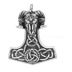 Ocelový přívěsek - Thorovo kladivo - Beran