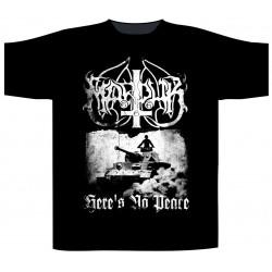 Pánské tričko Marduk - Here's No Peace