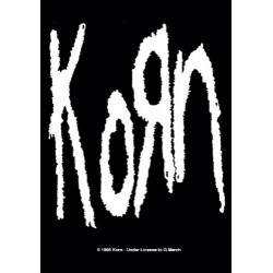 Vlajka na zeď s kapelou - Korn
