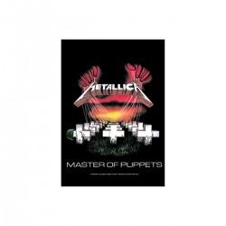 Vlajka na zeď s kapelou - Mettalica - Master Of Puppets