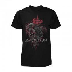Pánské tričko Mastodon - Rams Head Colour