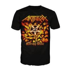 Tričko Anthrax - Worship Music