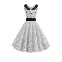 Dámské retro šaty - Polka