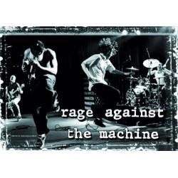 Vlajka na zeď s kapelou - Rage Against The Machine