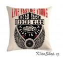 Povlak na polštář - Riders Club