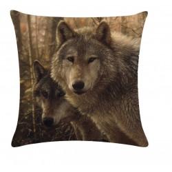 Povlak na polštář - Wolves