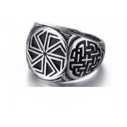 Prsten z chirurgické oceli - Kolovrat