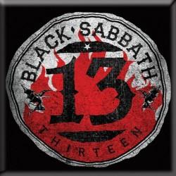 Magnet na lednici Black Sabbath - 13