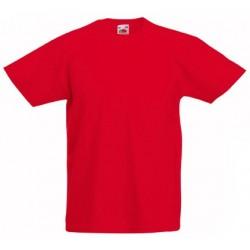 Dětské tričko Fruit Of The Loom - Červené