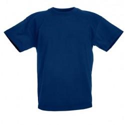 Dětské tričko Fruit Of The Loom - Tmavě modré