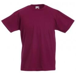 Dětské tričko Fruit Of The Loom - Vínové
