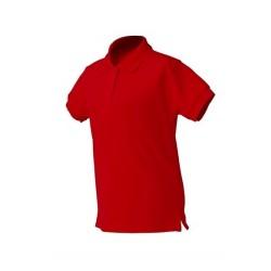 Dětská polokošile JHK - Červená