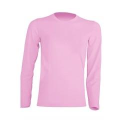 Dětské tričko s dlouhým rukávem JHK - Růžové