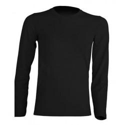 Dětské tričko s dlouhým rukávem JHK - Černé