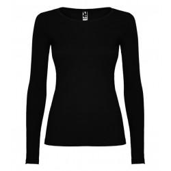 Dámské tričko s dlouhým rukávem Roly - Černé