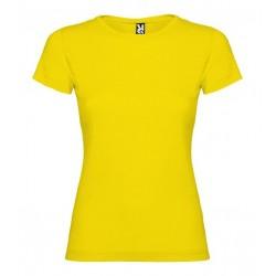 Dámské tričko s krátkým rukávem Roly - Žluté