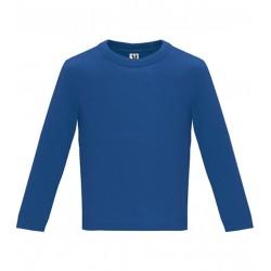 Dětské tričko s dlouhým rukávem 6M-24M - Tmavě modré