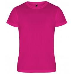 Dětské sportovní tričko bez potisku Roly - Růžové