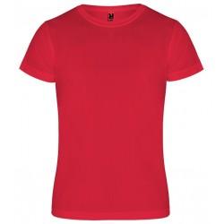 Dětské sportovní tričko bez potisku Roly - Červené