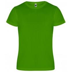 Dětské sportovní tričko bez potisku Roly - Tmavě zelené