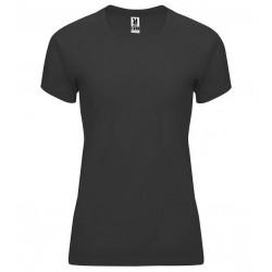 Dámské fitness tričko bez potisku Roly - Šedé