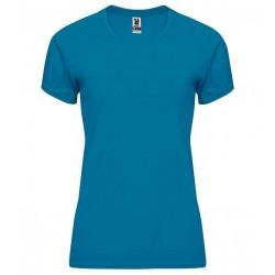 Dámské fitness tričko bez potisku Roly - Modré