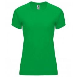 Dámské fitness tričko bez potisku Roly - Zelené