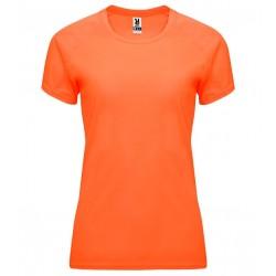 Dámské fitness tričko bez potisku Roly - Oranžové