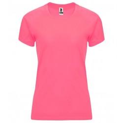 Dámské fitness tričko bez potisku Roly - Růžové