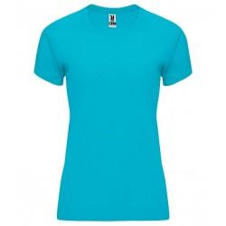 Dámské fitness tričko bez potisku Roly - Tyrkysové