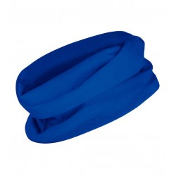 Multifunkční šátek bez potisku - Modrý