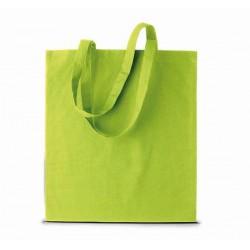 Bavlněná taška bez potisku - Limetková