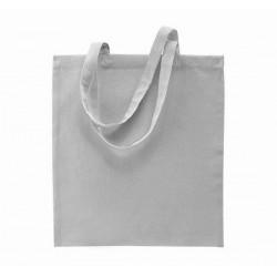 Bavlněná taška bez potisku - Světle šedá