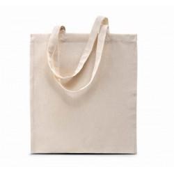 Bavlněná taška bez potisku - Béžová