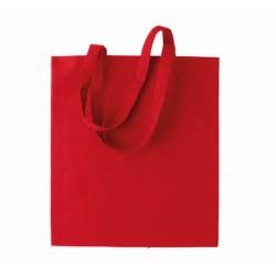 Bavlněná taška bez potisku - Červená