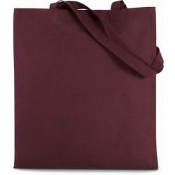 Bavlněná taška bez potisku - Vínová