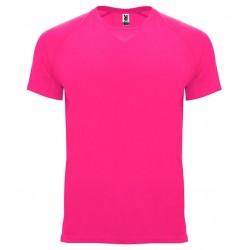 Pánské sportovní tričko bez potisku Roly - Růžové