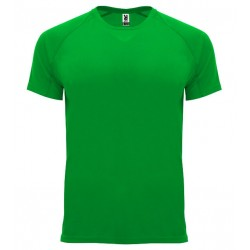 Pánské sportovní tričko bez potisku Roly - Tmavě zelené