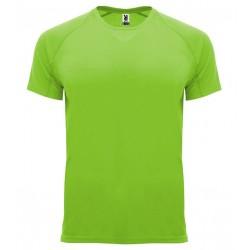 Pánské sportovní tričko bez potisku Roly - Limetkové