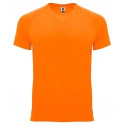 Pánské sportovní tričko bez potisku Roly - Oranžové
