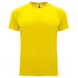 Pánské sportovní tričko bez potisku Roly - Žluté