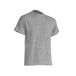 Pánské silnější tričko bez potisku - Šedé