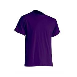Pánské silnější tričko bez potisku - Fialové