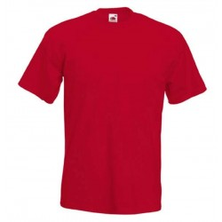 Pánské silné tričko bez potisku - Červené