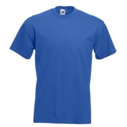 Pánské silné tričko bez potisku - Královské modré