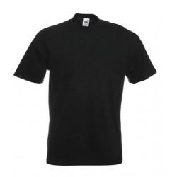 Pánské silné tričko bez potisku - Černé