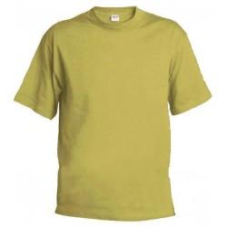 Pánské tričko bez potisku - Pískové