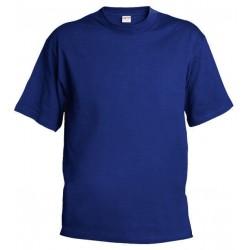 Pánské tričko bez potisku - Královsky modré